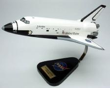 Special Order - NASA Space Shuttle Columbia - 1/100 Scale Large Mahogany Model