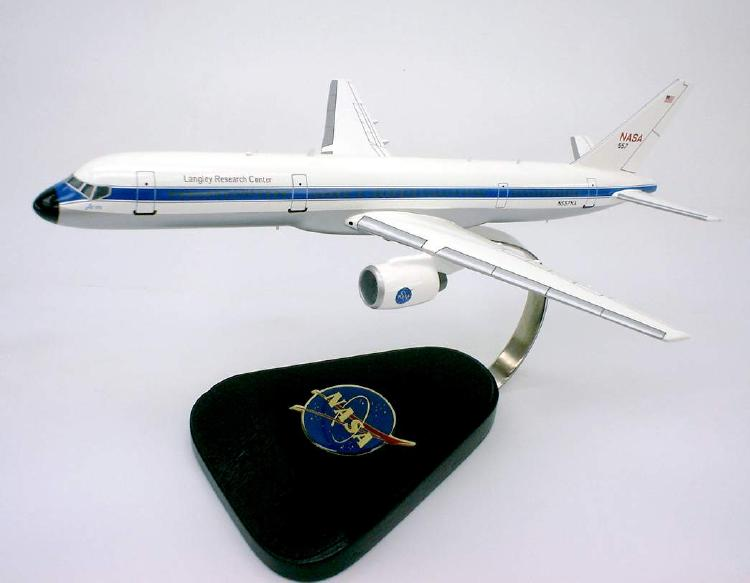NASA - Boeing 757-200 - ARIES - Langley Research Center - 1/125 Scale Mahogany Model