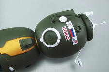 Close up view of Soyuz - TMA - ISS - Russian Space Capsule - 2003-Present