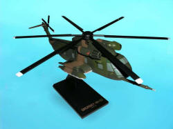 US Army - Sikorsky - HH-53 Super Jolly Green Giant Helicopter - 1/48 Scale Mahogany Model - B5648H3W