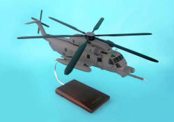 USAF - Sikorsky MH-53J Pave Low Helicopter - 1/48 Scale Mahogany Model - B7748H3W
