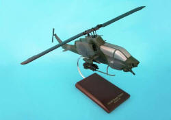 USMC - Bell - AH-1W Super Cobra - 1/32 Scale Mahogany Model - C5332H3W