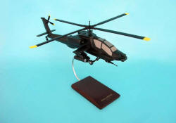 United States Army - McDonnell-Douglas - AH-64A Apache - Attack Helicopter - 1/32 Scale Mahogany Model - D0332AH3W