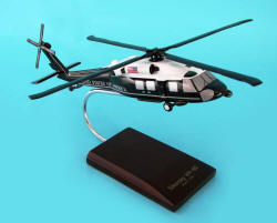 USMC - Presidential One Helio - Sikorsky VH-60D Seahawk Marine One Helicopter- 1/48 Scale Resin Model - C2548H3R