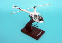 Robinson - R-22 Trainer - 1/24 Scale Mahogany Model - H8224