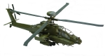 Air Command - AH-64 Apache Longbow - 1/72 Scale Diecast Helicopter Model - #SU19031