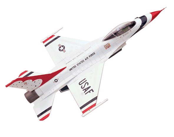 USAF - F-16 Thunderbird Fighting Falcon - Thunderbirds - 1/72 Scale Air Command Diecast Model - #SU19012