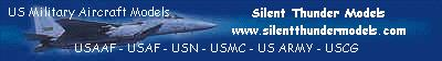 US Military Aircraft Models - Silent Thunder Models
