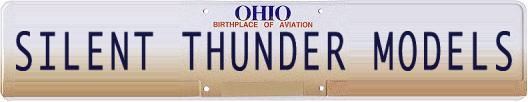 Silent Thunder Models - Ohio - Birthplace Of Aviation - Celebrating 100 Years Of Flight - Dayton, Ohio - Kitty Hawk, North Carolina