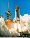 Shuttle Blasts Off - Day (16 X 20)