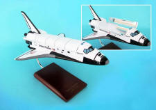 NASA Space Shuttle Discovery Model 1/100 Scale Replica (with working cargo bay doors)