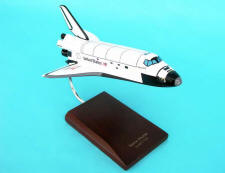 NASA - Space Shuttle Discovery - 1/144 Scale Medium Mahogany Model