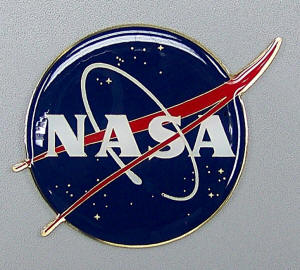 "NASA Seal - 3"" Brass Seal"