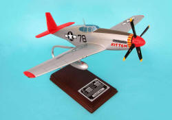P-51C Tuskegee 'KITTEN' signed by pilot Charles McGee