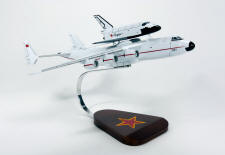 Russian - Antonov AN-225 Dream with Buran Shuttle Piggyback - 1/200 Scale