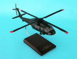 US Army - UH-60L Black Hawk - 1/48 Scale Mahogany Model - D0148H3R