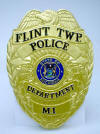 Click here for Custom Plaques - Flint Twp Police Department Badge - 14""
